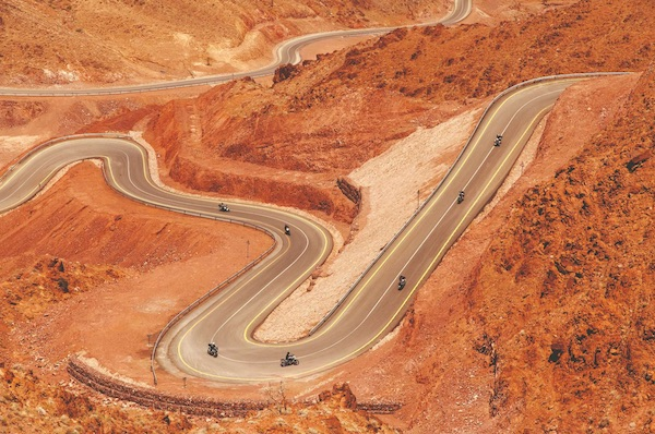 What's It Like To Be Among The First To Motorbike In Jordan?