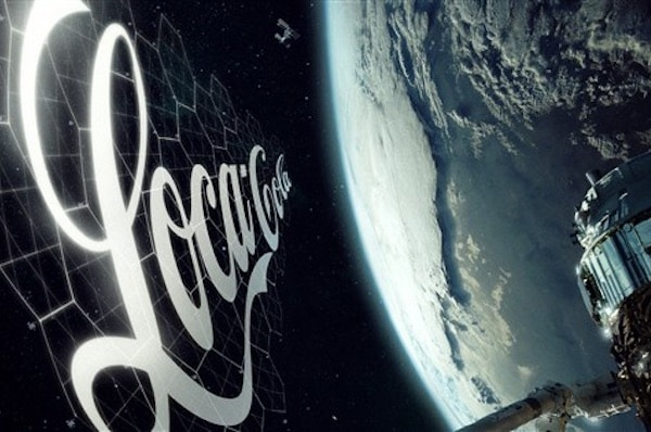 Russian Startup Wants To Put Huge Ads In Space