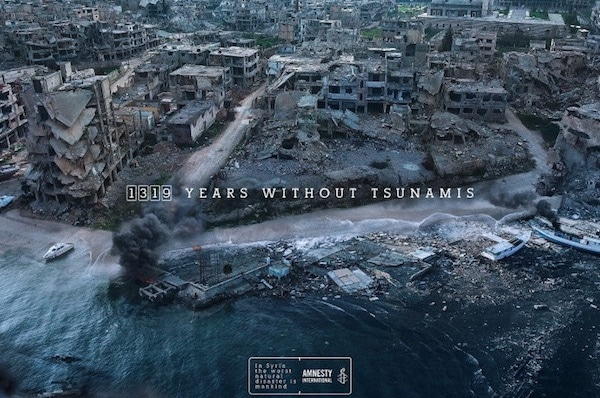 Amnesty's Syria Ads Prove Humankind Can Be Worse Than Natural Disasters