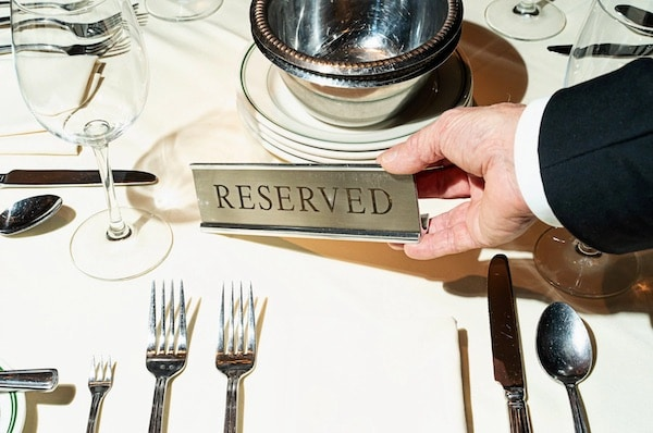 Inside The Pampered And Personalized World of DC's VIP Diners