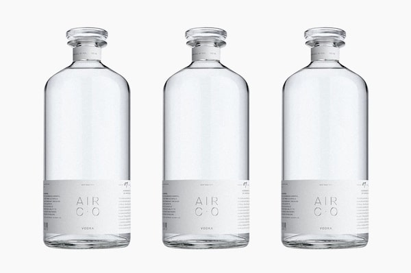 Air Co's Vodka Is Made Out Of Carbon Dioxide Pulled From The Atmosphere