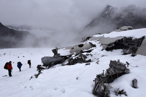 You Can Hike To A 1950s Plane Wreck In Alaska's Talkeetna Mountains