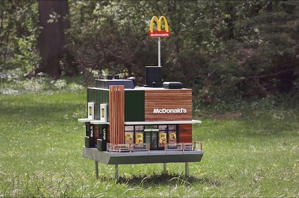 McHive, The World's Smallest McDonald's For Bees