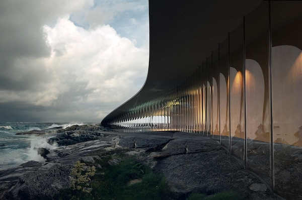 The Whale Arctic Visitor Center By Dorte Mandrup