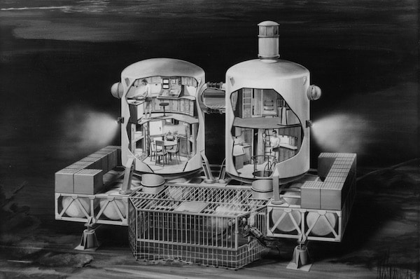 How Scientists Imagined And Built An Undersea Utopia For Humans