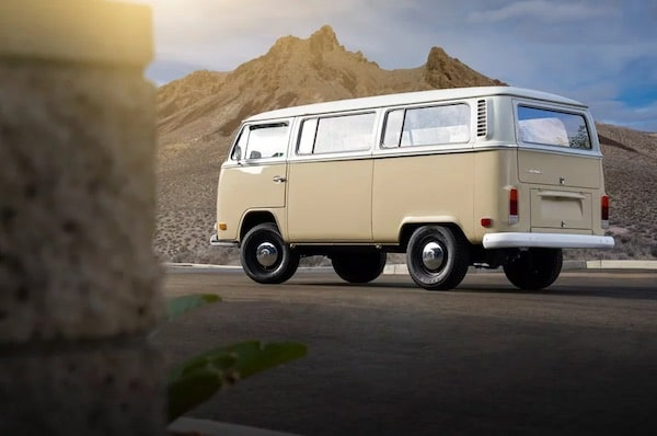 Volkswagen Gives Classic 1972 Type 2 Microbus An Electric Upgrade