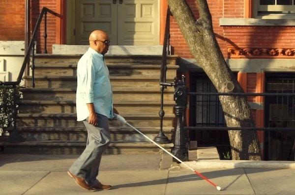 WeWalk Smart Cane Helps Blind People Navigate