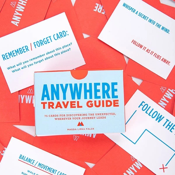 Anywhere Travel Guide: 75 Cards for Discovering The Unexpected