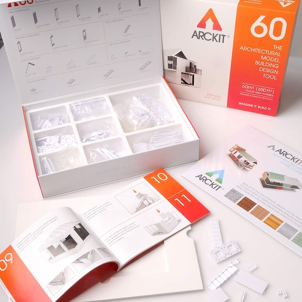 Arckit 60: 220+ Piece Architect Model Building Kit