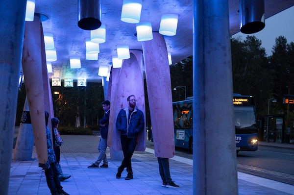 'Station Of Being' Is An Interactive Arctic Bus Stop