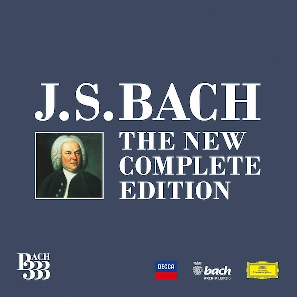 BACH 333 The New Complete Edition