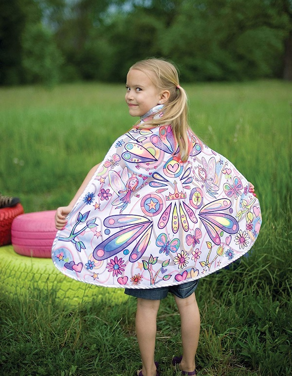 Great Pretenders Color-A-Cape Fairy Dress-Up Play