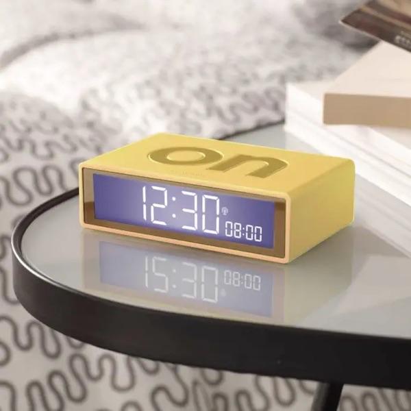 Lexon Flip+ Radio Controlled Alarm Clock