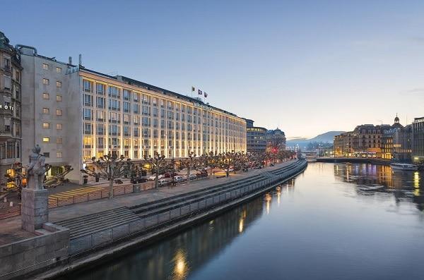 Mandarin Oriental Hotel, Geneva