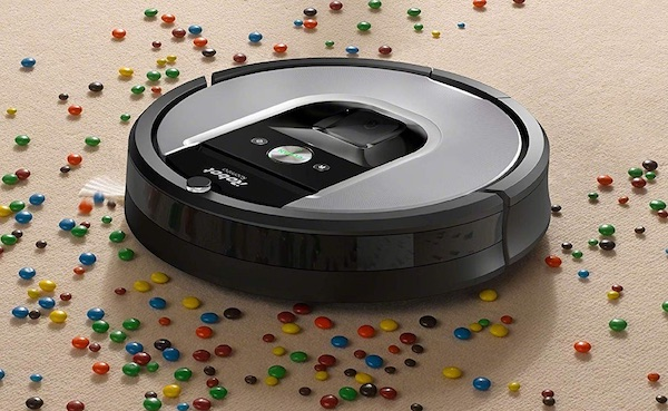 iRobot Roomba 960 Wi-Fi Connected Vacuum Cleaner