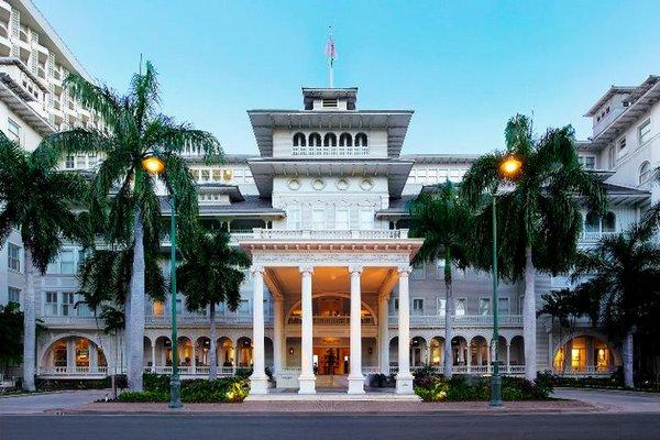 Moana Surfrider Westin Resort Honolulu, Hawaii