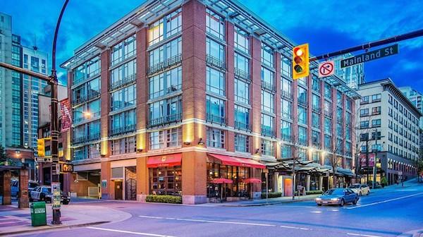 Opus Hotel, Vancouver