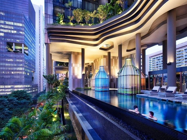 Hotel Parkroyal on Pickering, Singapore