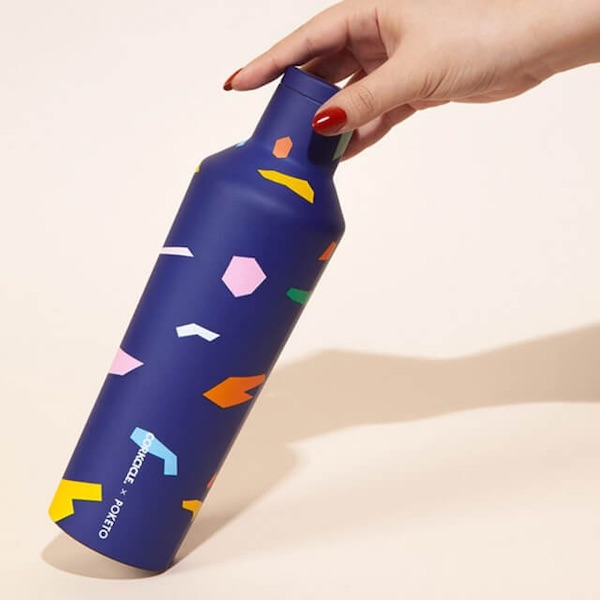 Corkcicle x Poketo Canteen In Confetti
