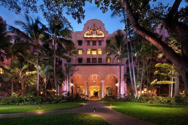 The Royal Hawaiian Hotel Oahu, Hawaii