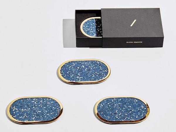 Slash Objects Royal Rubber Coasters