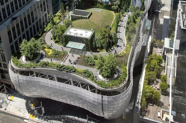 The Floating Utopia Of Salesforce Park