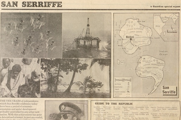 The Beautiful Island Of San Serriffe, The Most Elaborate April Fool's Joke Ever Printed