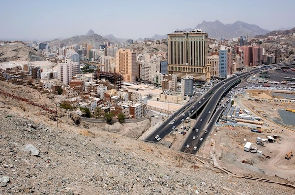 Wild Juxtapositions Of Saudi Arabia Modern And Ancient