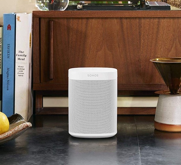Sonos One Gen 2 Voice Controlled Smart Speaker