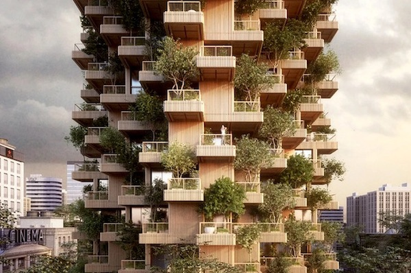 This Breathtaking 'Tree Tower' Is The Changing Face Of Toronto's Cityscape