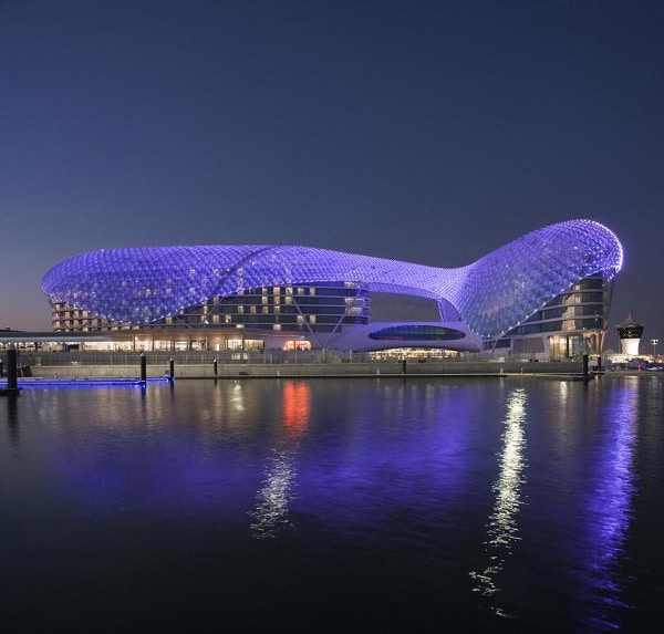 Hotel Yas Viceroy, Abu Dhabi