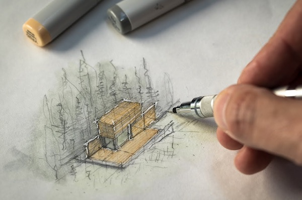 How To Sketch Like An Architect