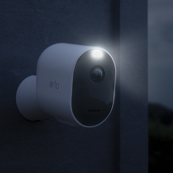 Arlo Pro 3 Wireless Security Camera With Color Night Vision & Spotlight