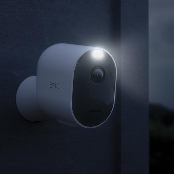 Arlo Pro 3 Wireless Security Camera With Color Night Vision & Spotlight