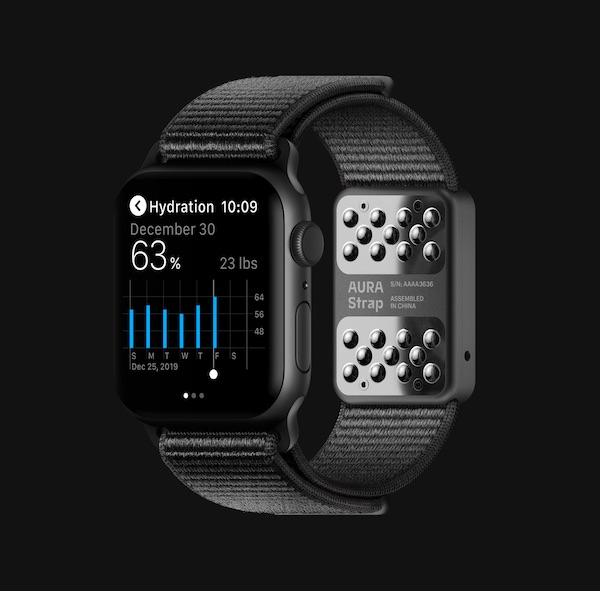 AURA Apple Watch Additional Data Strap