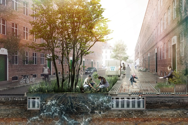 Climate Tile Designed To Catch And Redirect Excess Rainwater From Climate Change