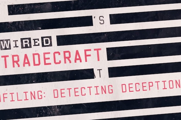 Former FBI Agent Explains How To Detect Lying & Deception