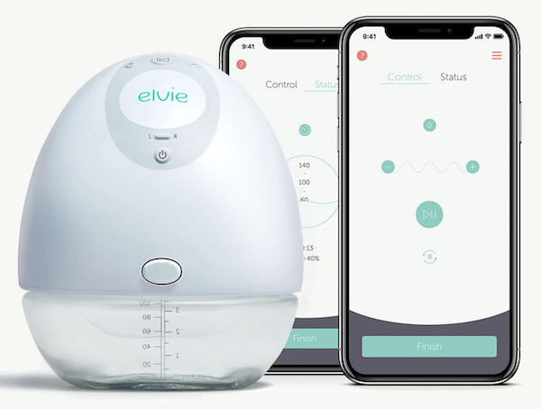Elvie Silent Wearable Breast Pump For Breastfeeding Mothers