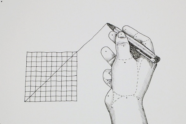 """Extrapolate"", A Mind-Bending Hand-Drawn Animation By Johan Rijpma"