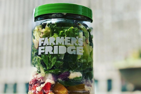 Farmer's Fridge Wants To Make Eating Healthy Food As Easy As Getting Money From An ATM