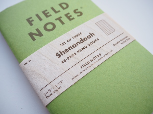 Field Notes Shenandoah Graph Memo Books, 3-Pack