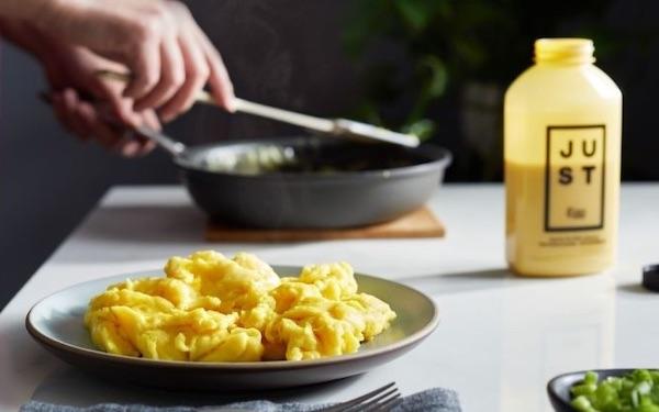 JUST Egg: Plant-Based, Cholesterol-Free, Scrambled Eggs