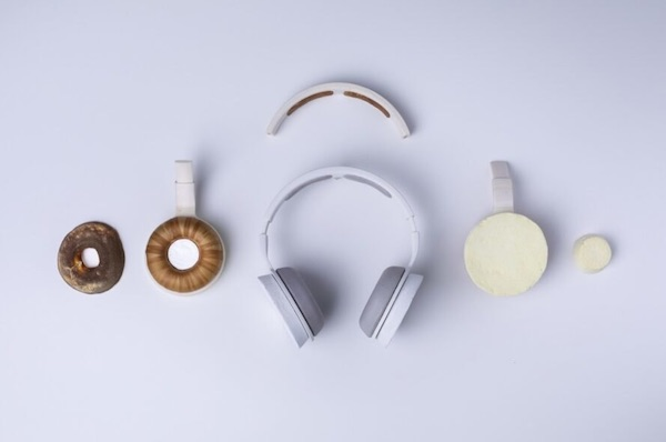 "Korvaa Is The World's First Headphones ""Grown"" From Bio-based Materials"