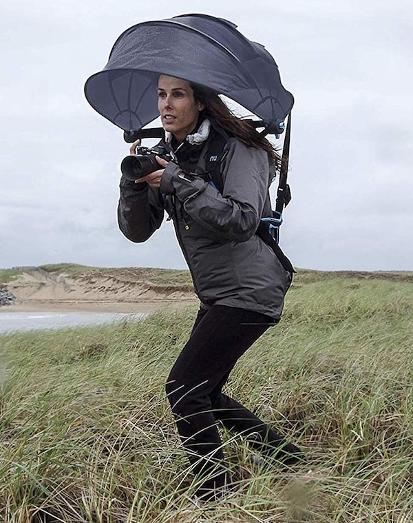 Nubrella Backpack Hands-Free Umbrella
