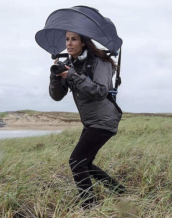 Nubrella Backpack Hands-Free Umbrella