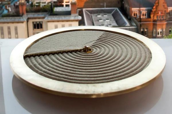 Ripples Of Time Sand Clock By Studio Ayaskan