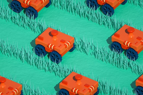 Swarms of Teeny Robo-Tractors Will Outmaneuver Tesla's Driverless Cars