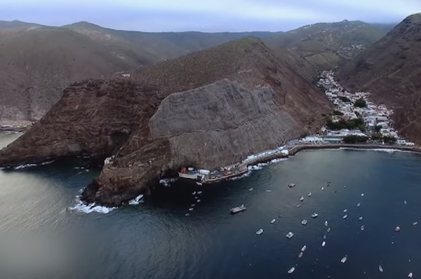 The Last Ship To St. Helena, A Remote Island In The Atlantic