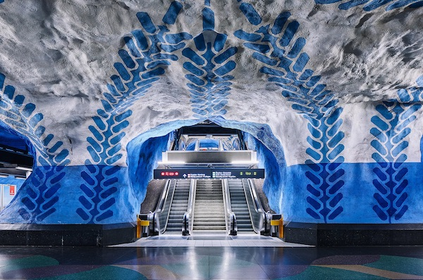 David Altrath Photographs The Spectacular Stockholm Metro