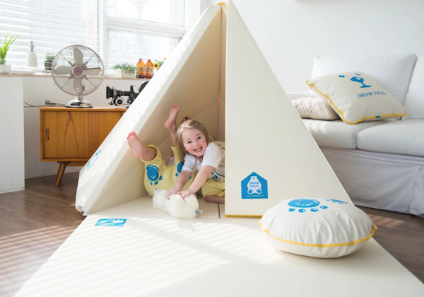 CreamHaus Transformable Play Mat